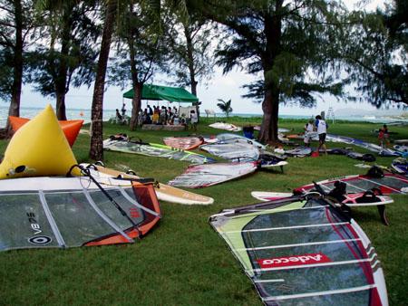 ウィンドサーフィン大会