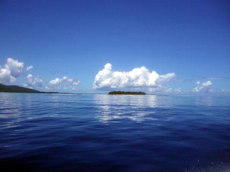 マニャガハ島沖から
