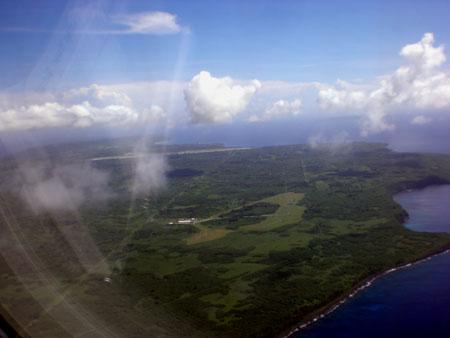 テニアン島 空撮