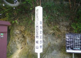 天然記念物 城山(30%)