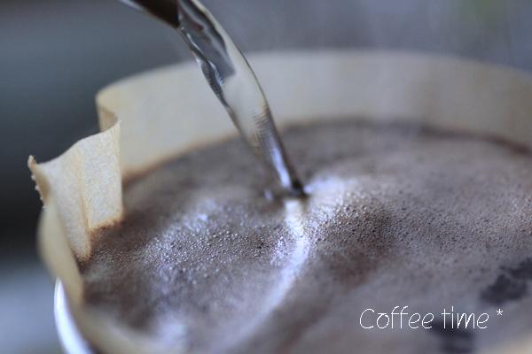 たっぷりのコーヒー♪