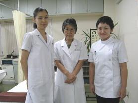 東方鍼灸院にて3人で