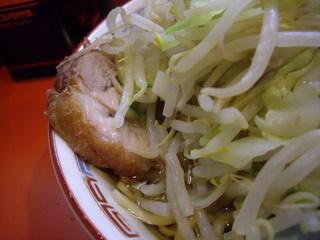 ラーメン二郎 仙川店 豚入りラーメン アップ
