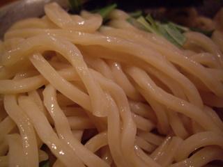 食処 渓 渓つけめん(麺アップ)