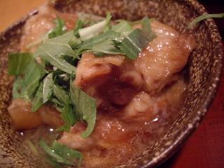 食処 渓 豚スジ