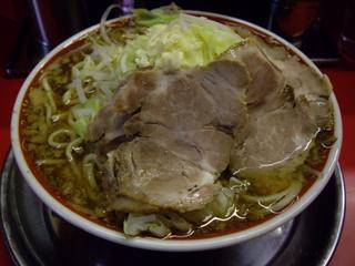 ラーメン遊 チャーシュー麺増し