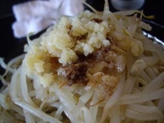 ラーメン勇花 ラーメン(ニンニク・脂アップ)