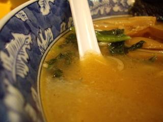 らーめん文蔵 らーめんのスープ