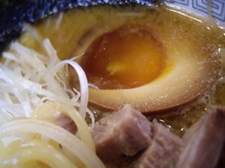 麺や雅 焼味噌(煮玉子)