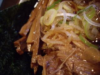 麺舗十八 チャーシューアップ1