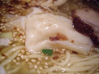 麺屋あうん 鯛ラーメン(ワンタン)
