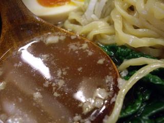 旬麺しろ八 こってりしろ八麺(スープ)