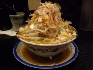 ガガガ職堂A short chain 濃味噌ラーメン鬼盛り
