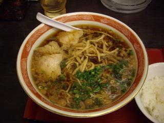 尾道ラーメン麺一筋(水道橋西口店) ラーメン