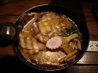 和風鰻麺 八幡屋 あっさり和風叉焼鰻麺