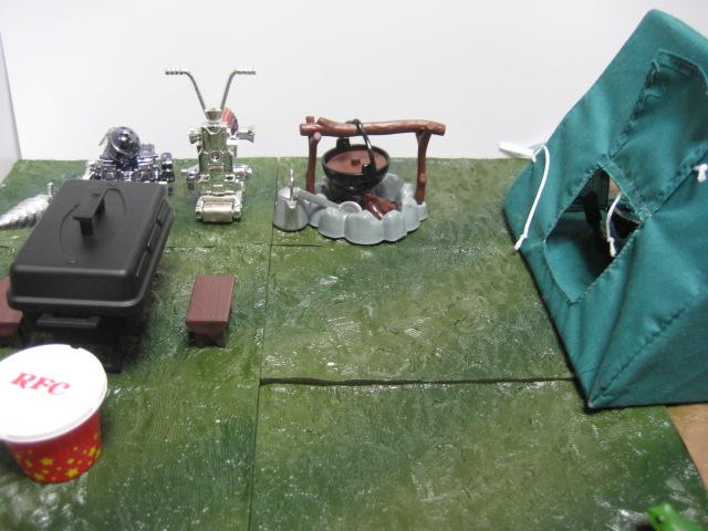 アランのテント