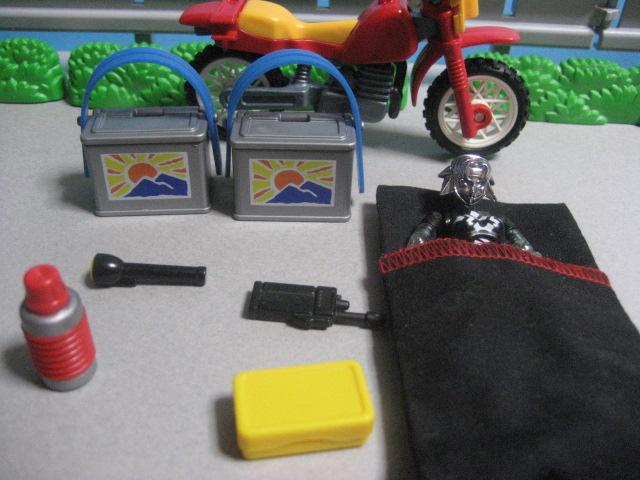 オールテラインバイク・小道具