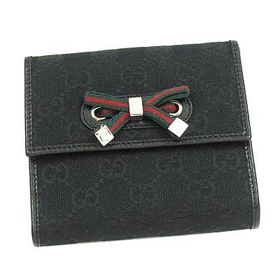 GUCCI PRINCY Wホック財布