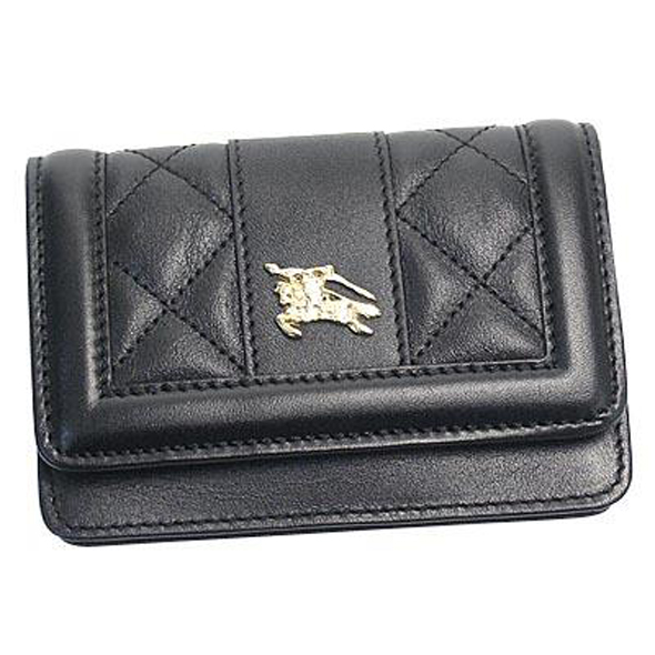 BURBERRY(バーバリー) BUSCARDHOLDER QUILTED LEATHER 名刺入れ