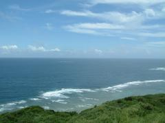 大神島の高見台より