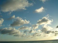 宮古島特有の雲