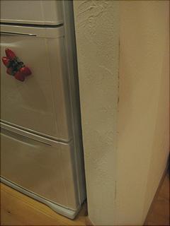 1101アール下の壁冷蔵庫側A