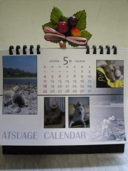 5月とうふちゃんカレンダー