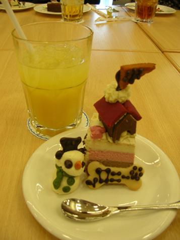 ロニーケーキ 加工