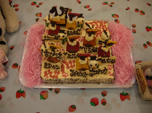 みんなのケーキ 加工