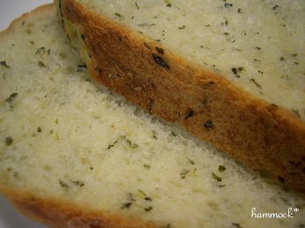 ホウレン草食パン