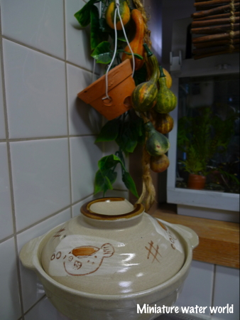 ふぐの土鍋。