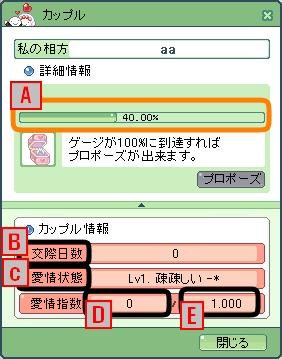 カップルシステムB