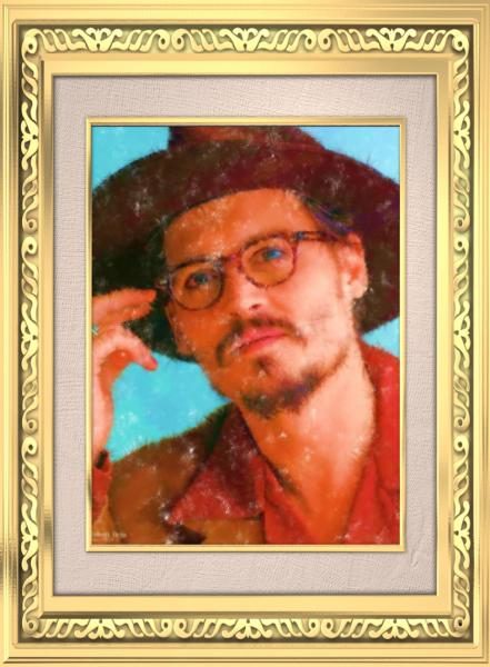 ジョニー123 油絵風 クラシック