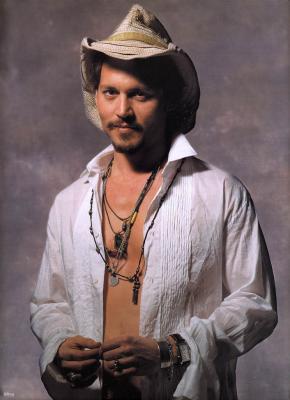 ジョニー派手ネックレス