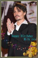誕生日用ミルク
