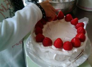 ケーキ作り9.2