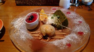 パリの食卓デザート