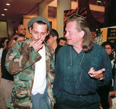 ギリアム監督と(1998年9月)