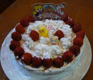 みー手作りケーキ