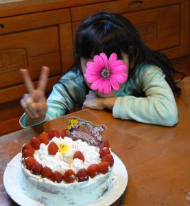 みー手作りのケーキ2