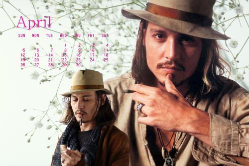 カレンダー4月2009