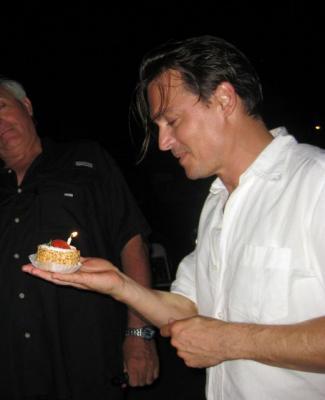 ケーキ貰う3