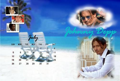 カレンダー2009年7月ブログ用