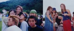 2000年河口湖Worldにて。