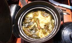 土鍋deサフランライス