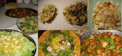 料理たち。