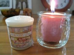SAMPLER'S CANDLE