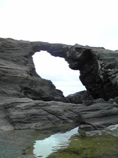 馬の背洞門