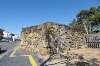市の橋門跡