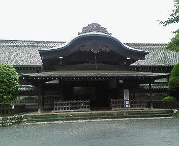 川越城本丸御殿